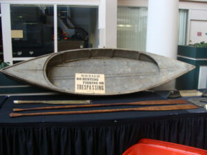 Small Punt Skiff From The Canada Club